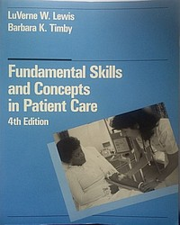 Fundamental Skills and Concept, Lewis LuVerne W., Timby Barbara K.